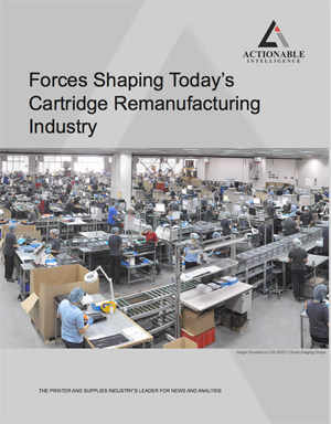 Forces Shaping Today's Cartridge Remanufacturing Industry by Actionable Intelligence