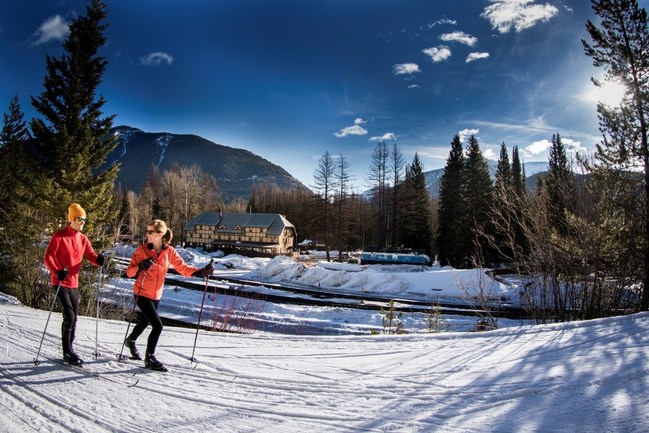 Glacier National Park offers a wide variety of winter activities
