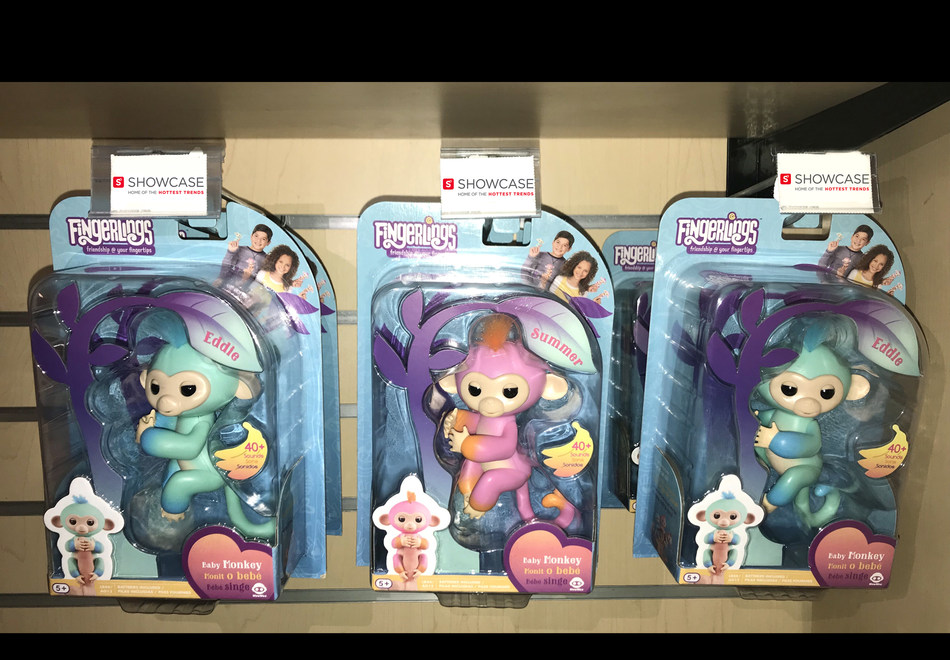 More than 12,000 Two Tone Fingerlings Baby Monkeys are arriving at Showcase stores starting December 19. A limited number is also available at www.ShopAtShowcase.com (CNW Group/Showcase)