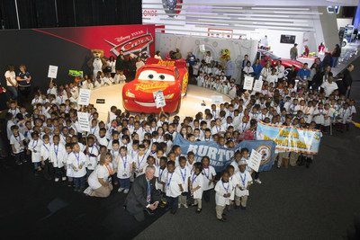 """The North American International Auto Show (NAIAS) and the PNC Foundation will greet over 400 Detroit Public School pre-K students as part of """"PNC Grow Up Great Day"""" at the show, Thursday, Jan. 25, 2018."""