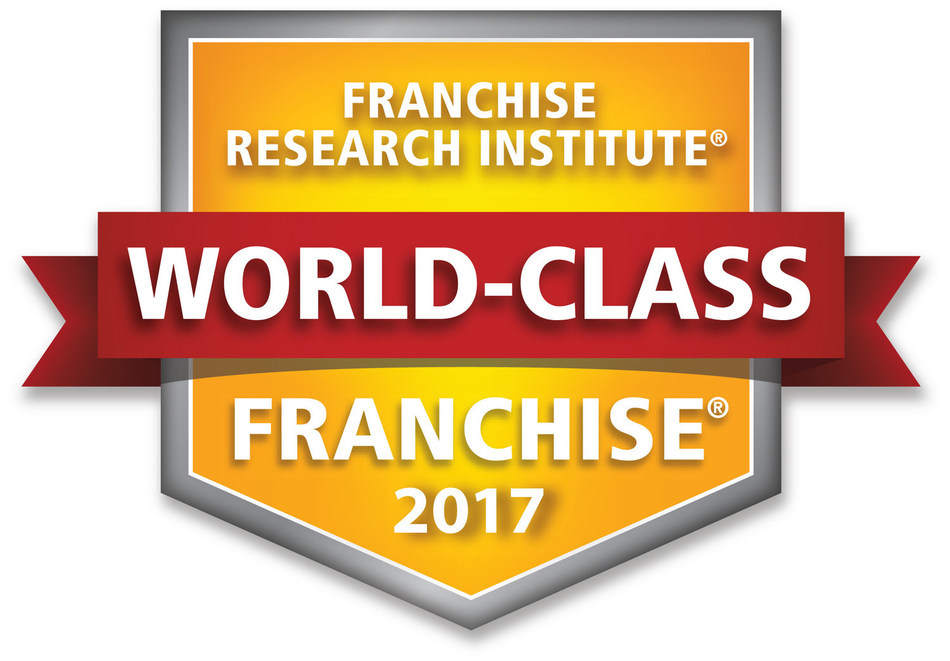 Ziebart Corporation is awarded Franchise Research Institute World Class Franchise.