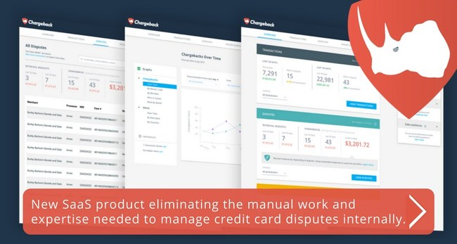 This new SaaS product is Ops-Tech for credit card dispute management. The explosive growth in ecommerce sales is fantastic but it comes with significantly more credit card disputes. The Chargeback App aims to eliminate the traditional manual work and expertise needed to properly manage disputes and recover lost revenue.