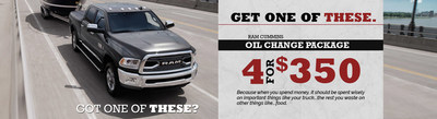 Ram truck owners interested in competitively priced oil changes, tire alignment, or a DOT inspection in the Twin Cities area may want to take advantage of current coupons available at the Fury Ram Truck Center in Lake Elmo, Minnesota.