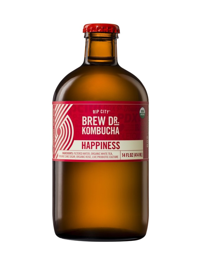 Brew Dr. Kombucha's Rip City™ Happiness Kombucha