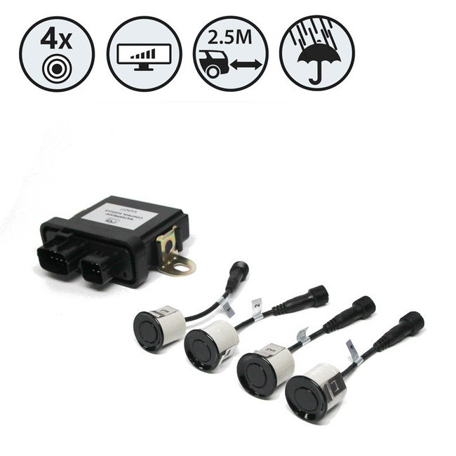 RVS-112-W Waterproof Backup Sensor Reversing System
