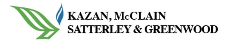 Kazan, McClain, Satterley & Greenwood Logo (PRNewsfoto/Kazan, McClain, Satterley & Gre)