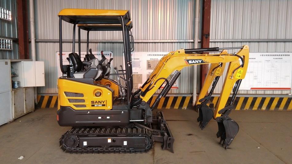 SANY mini excavator SY16C