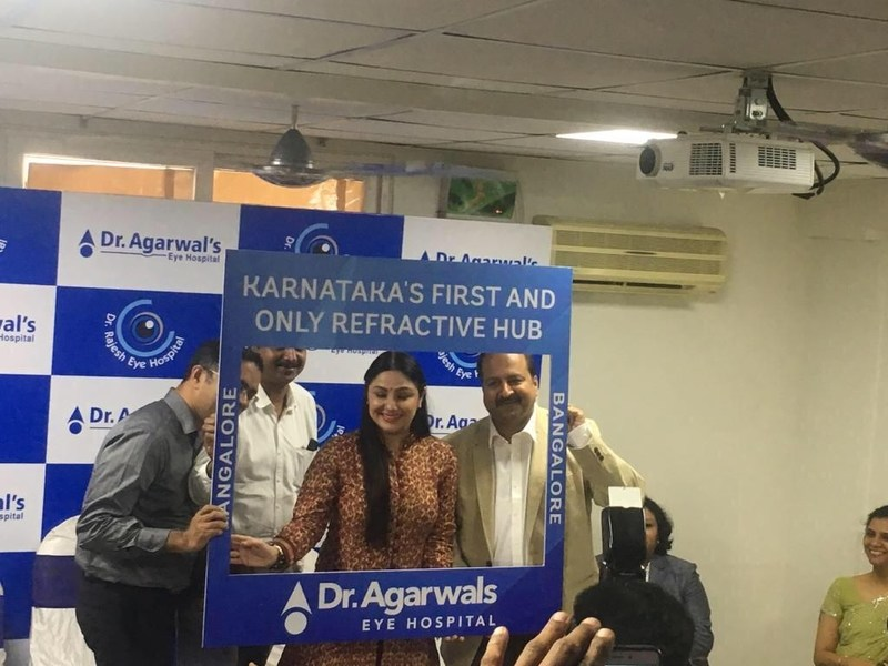 Dr. Agarwal's Eye Hospital Launches Karnataka's First and Only Refractive Hub (PRNewsfoto/Dr. Agarwal's Eye Hospital)