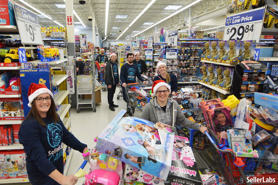 Athens-based Seller Labs raised more than $100,000 for local Toys for Tots program.