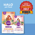 HALO® Pet Food Is Winner In Pet Product News 2017 Editors' Choice Awards