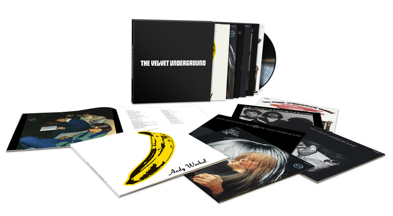 "'The Velvet Underground,' a limited-edition career-spanning vinyl box set that collects all four of the pioneering band's studio albums, Velvets collaborator Nico's debut LP, 'Chelsea Girl,' and a reconstruction of the fabled ""lost"" 1969 album, will be released February 23 via Verve Records/UMe."