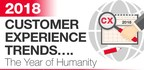 """Temkin Group Releases Annual List of Customer Experience Trends and Labels 2018 """"The Year of Humanity"""""""