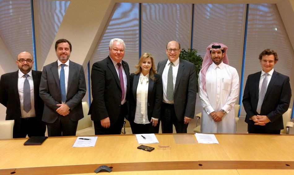 MEEZA, Fujitsu and Vauban Announce a Memorandum of Understanding to Deliver Next Generation Digital Transformation in Qatar (PRNewsfoto/MEEZA)