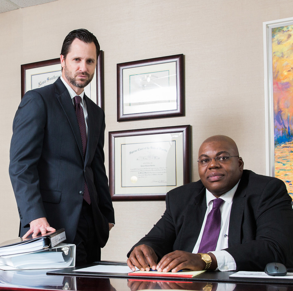 Givens Givens Sparks attorneys Robert Sparks (left) and Christopher Codling (right).