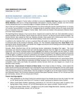 Twenty Valley Winter WineFest Press Release (CNW Group/Wine Marketing Association of Ontario)