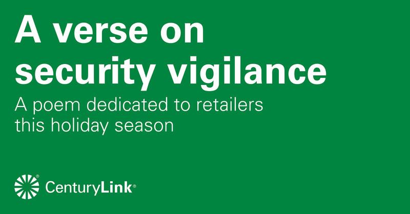 A Verse on Security Vigilance