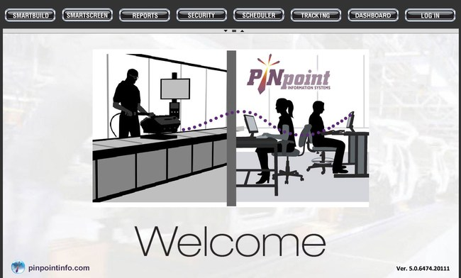 PINpoint V5 Portal Website