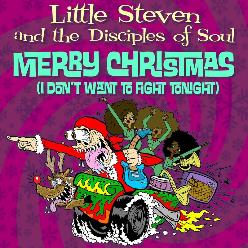 """Christmas has come early with Little Steven and the Disciples of Soul's jubilant new video for their just-released holiday song """"Merry Christmas (I Don't Want To Fight Tonight)."""""""