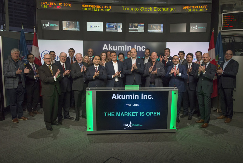 Akumin Inc. Opens the Market (CNW Group/TMX Group Limited)