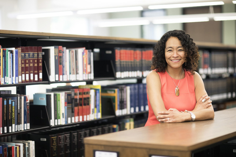 """""""I am passionate about redefining, reinventing and reimagining the future of legal education with the faculty, students and dedicated supporters of UCI Law,"""" Dean L. Song Richardson says. Credit: UCI Law"""