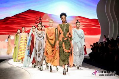 Semana de la Moda Internacional de la Ruta de la Seda (PRNewsfoto/Huoerguosi Mojie Culture Media C)