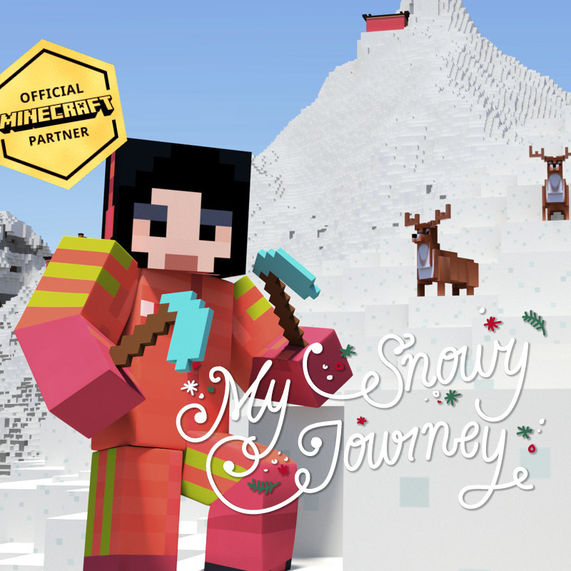 12 Days of Minecraft - My Snowy Journey