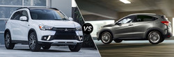 Drivers can compare the 2018 Mitsubishi Outlander Sport vs the 2018 Honda HR-V on the Continental Mitsubishi website.
