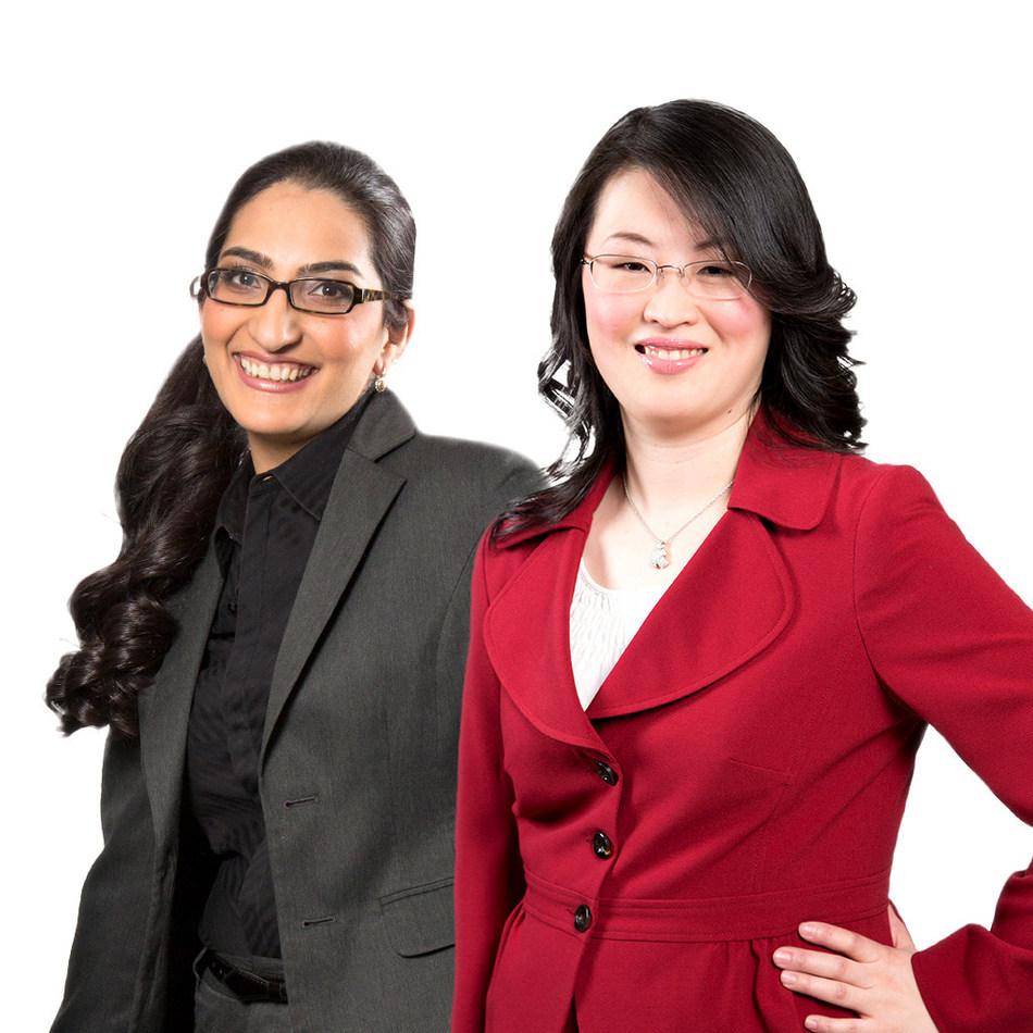Richa Khanna and Angela Fong - Collins Barrow Vaughan (CNW Group/Collins Barrow National Cooperative Incorporated)