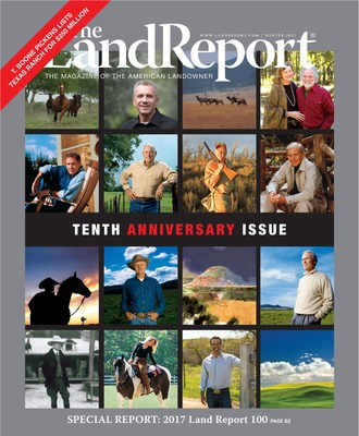 The 2017 Land Report 100 features several new additions to the list of the nation's leading landowners, including Subway co-founder Peter Buck, who owns more than 1,000 square miles of Maine timberland, and Interactive Brokers Group chairman Thomas Peterffy, who bought 561,000 acres of Northern Florida timberland.