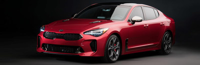 The captivating 2018 Kia Stinger is available right now at Friendly Kia in New Port Richey.