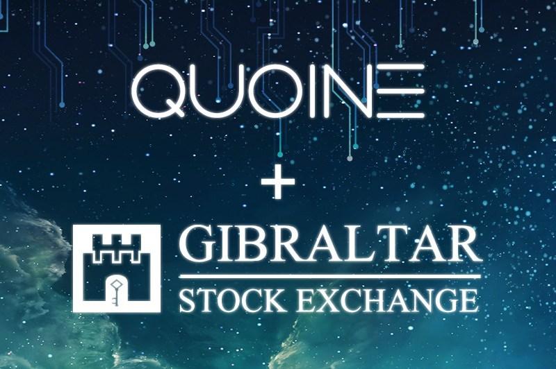 Gibraltar Blockchain Exchange and QUOINE Announce Strategic Partnership (PRNewsfoto/QUOINE)