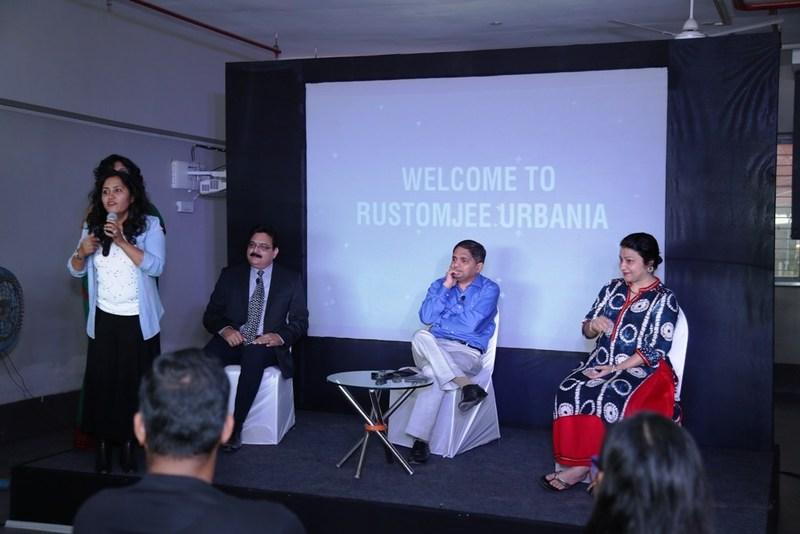 Experts at the event at Rustomjee Urbania (PRNewsfoto/Rustomjee)