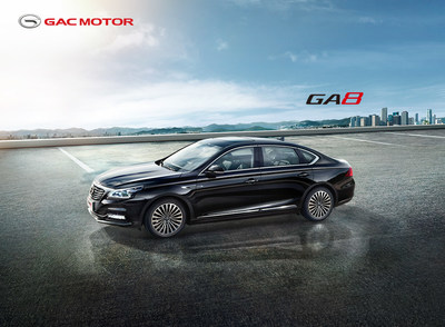 GA8, o sedan elite da GAC Motor (PRNewsfoto/GAC Motor)