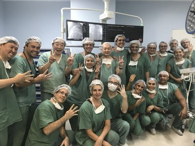 First Successful Clinical Implantation of Transcatheter Pulmonary Artery Valve Venus P-Valve in Brazil