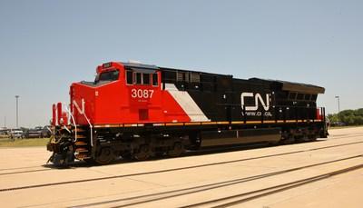 Le CN achètera 200 nouvelles locomotives à GE Transportation au cours des trois prochaines années (Groupe CNW/La Compagnie des chemins de fer nationaux du Canada)