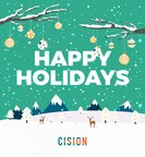 Happy Holidays from Cision (CNW Group/Cision Canada)