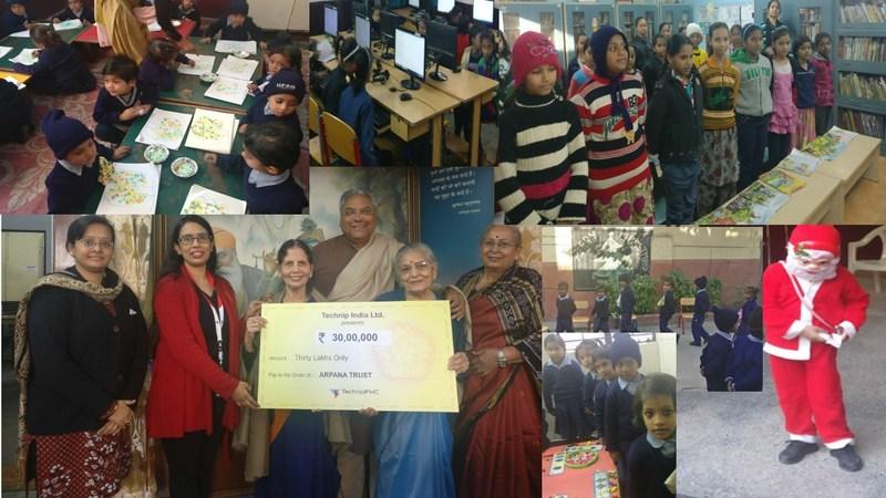 Education for all (PRNewsfoto/Technip India Ltd)