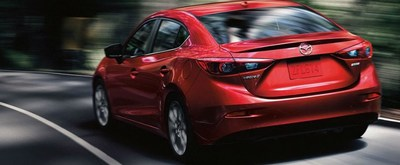 The 2018 Mazda3 is one of the models featured in Serra Mazda's new lease offers, encouraging drivers to lease new Mazda vehicles this holiday season.