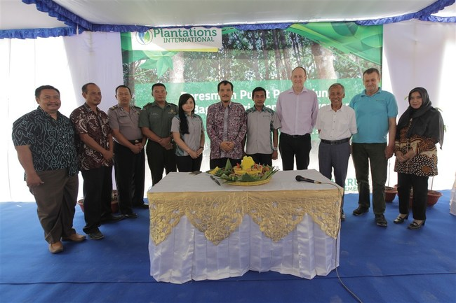 Plantations International Launches The Centre of Gaharu Excellence in Yogyakarta, Indonesia.