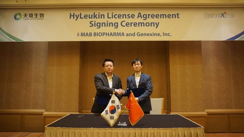 I-Mab Biopharma Signs Licensing Agreement for HyLeukin With Genexine