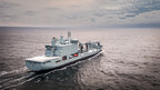 The Royal Canadian Navy's new mothership sails, on time and to budget