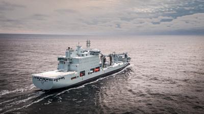 Voyage inaugural du Astérix de Québec à Halifax 25/12/2017 (Groupe CNW/Chantier Davie Canada Inc.)