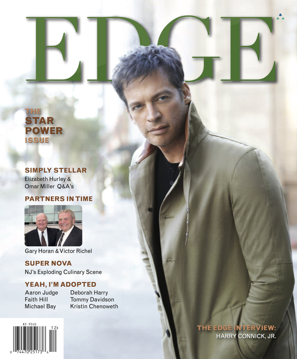 EDGE Rings In the Holidays with Harry Connick, Jr. ost of Daytime Hit 'Harry' Headlines the Year-End 'Star Power' Issue