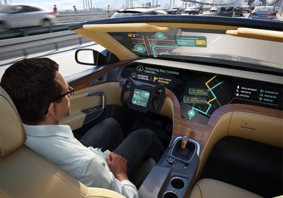 LG ELECTRONICS AND HERE TECHNOLOGIES PARTNER ON AUTONOMOUS CARS