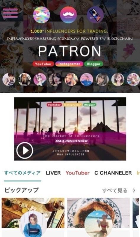 PATRON-ICO Website