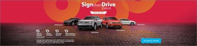 Sign then Drive Event at Carter Volkswagen