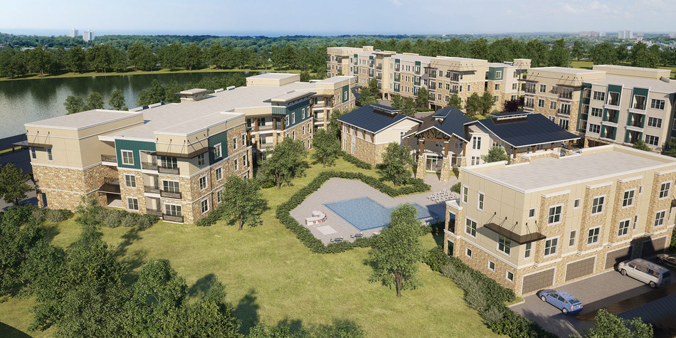 JPI, the North Texas leader in multifamily development, has started construction on Jefferson Woodlands, a 364 apartment community in Garland.