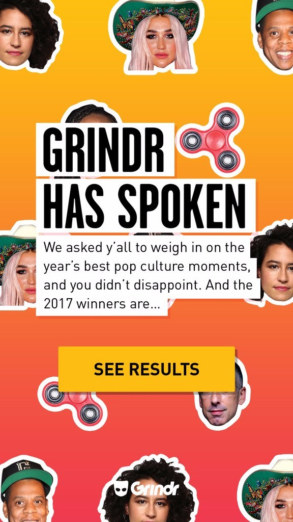 Grindr Announces Best of 2017 Award Winners