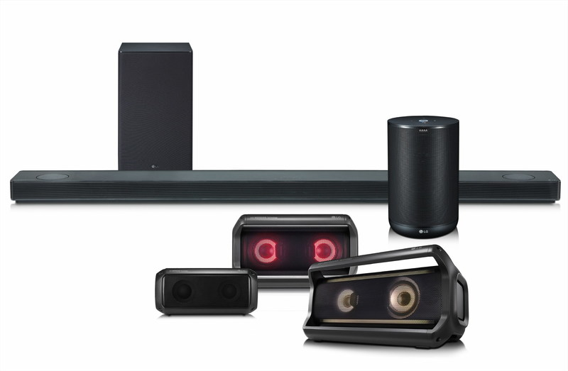 LG Electronics (LG) today announced its premium lineup of audio products that promises to change the way people think about home speakers. From immersive Dolby Atmos® sound bars to portable Bluetooth speakers and its latest artificial intelligence (AI) speaker, LG has something for everyone this year.