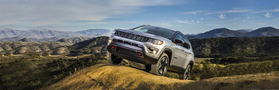 The 2018 Jeep Compass is available now at Palmen Motors.